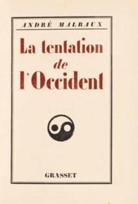 MALRAUX, André (1901-1976). La Tentation de l'Occident. Paris: Bernard Grasset, 1926. In-12 (184 x 130 mm). Reliure de demi-maroquin rouge à bandes signée Semet & Plumelle, dos lisse, tête dorée. Provenance: René Gaffé (ex-libris).